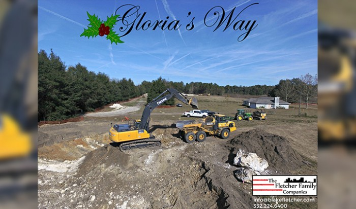 Broken Ground at Gloria's Way