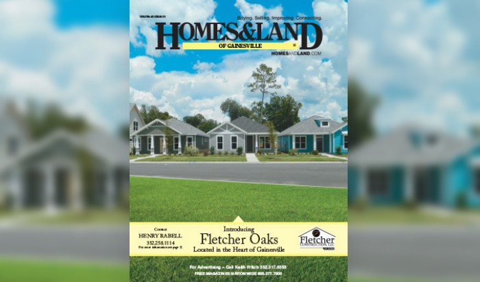 Cover of Homes & Land Magazine